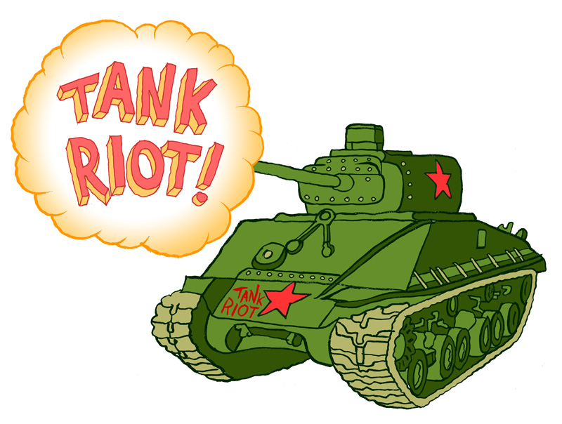 Tank Riot tank by Chris Judge
