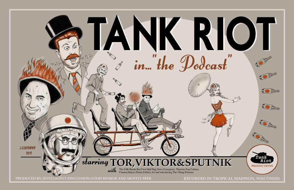 "Tank Riot in ""the Podcast"" by Jeremy Couturier"
