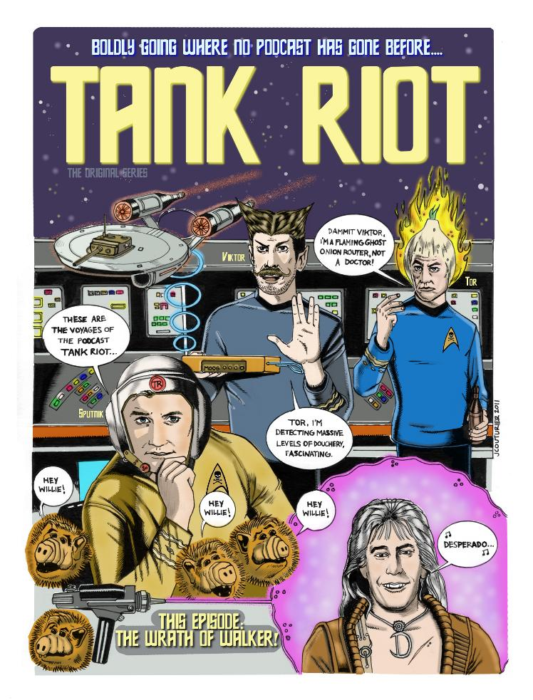 Tank Riot The Original Series by Jeremy Couturier